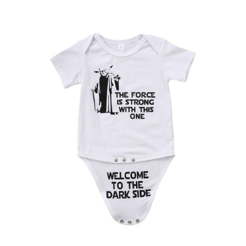 Newborn Infant Baby Boy Girl Cotton Funny Romper Jumpsuit Kids Clothes Outfit Baby Clothing-eosegal