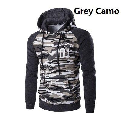 Men Camouflage Hoodies 2018 New Brand Male Military Printing Pullovers Sweatshirts Maneosegal-eosegal
