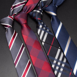 Men Tie 6cm skinny ties for Striped Neckties Man Fashion Jacquard Classicseosegal-eosegal