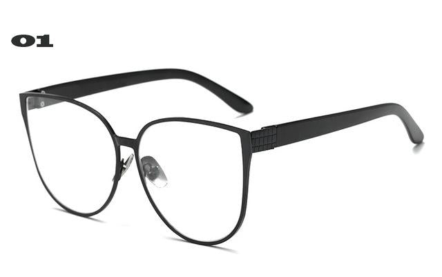 Cat Eye Eyewear Frames Men Clear Lens Glasses Frame Female Hipstereosegal-eosegal