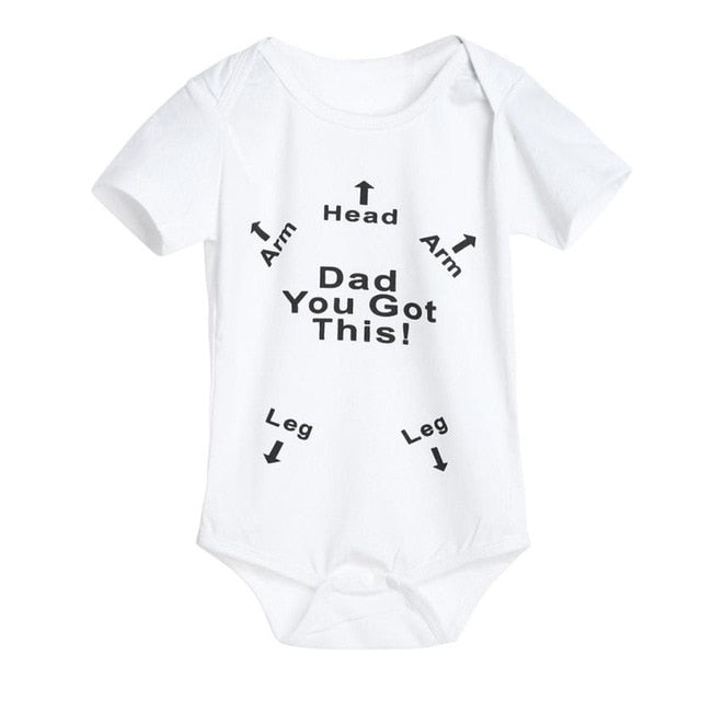 MUQGEW Baby Newborn Infant Baby Boys Girls Letter Print Romper Jumpsuit Outfits Clothes Body-eosegal
