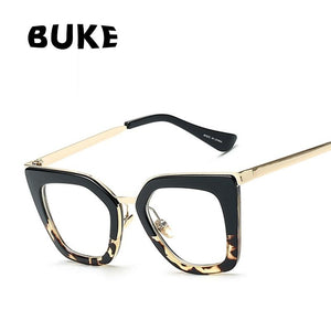 2018 Gafas Cat Eye Women Eyeglasses Clear Lens Spectacle Frame eosegal-eosegal