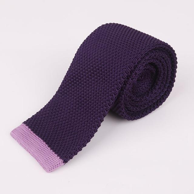 5cm Men's Suits Knitted Ties for Wedding Skinny Knitting Necktie Maleeosegal-eosegal