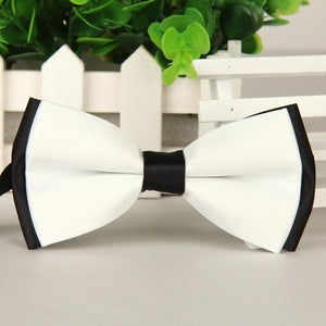 2016 high-grade bowties new men White and black butterfly Fashion boweosegal-eosegal