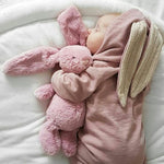 Winter Rompers Warm Rabbit Ear Baby Romper Fleece Jumpsuit Snow Wear Snowsuit Cute Infant Clothing Newborn Boys Grisl Clothes-eosegal