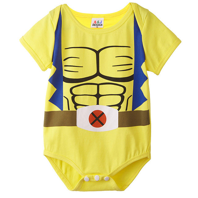 Baby Boys Wolverine Funny Costume Cute Bodysuit Infant Onesie-eosegal