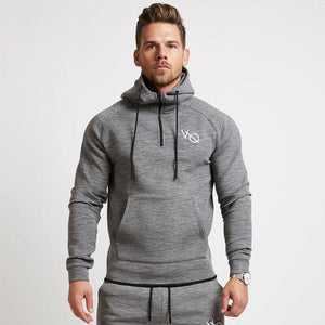 2018 Men New fashion Leisure brand Hoodies Sweatshirt gyms Fitness bodybuilding pullovereosegal-eosegal