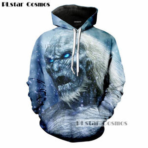 Popular TV Game of Thrones The white walkers Ghost 3D Printedeosegal-eosegal