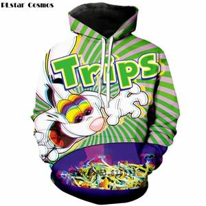 2018 Autumn New Fashion Womens/Mens hoodies trippy vibrant Trix Rabbit psychedeliceosegal-eosegal