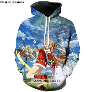 2018 new arrival hoodies Anime Sword Art Online 3D Print Sweatshirteosegal-eosegal