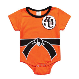 Baby Clothing Dragon Ball Z Goku Newborn Baby Boy Girl Romper Clothes Long Sleeve Infant Clothes Baby Jumpsuits-eosegal