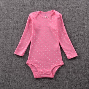 Free shipping 2016 New Original Baby Girls Boys Long Sleeves Cotton Bodysuit,Baby Fashion Jumpsuit Newborn- 24m baby cloth-eosegal