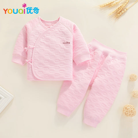 af57be5c2cd8 YOUQI Newborns Clothes Unisex Winter Baby Girls Boys Clothing Set ...
