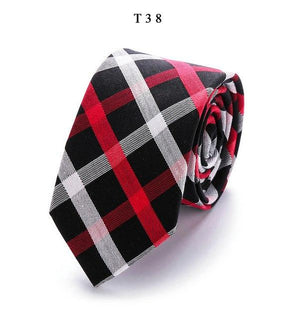 2018 Fashion Design Brand 6 cm necktie cotton ties for Men weddingeosegal-eosegal