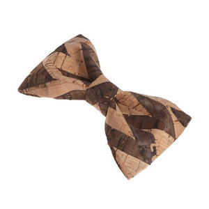Men's Novelty Wood Bow Tie Wooden Handmade Wedding Accessories Harajuku Neckwear 2018eosegal-eosegal