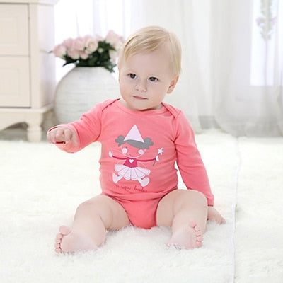 Mother Nest 2018 Newly Baby Bodysuits Cotton Baby Girls Boy Clothing Short Sleeves O-Neck Newborn Baby Clothes Infant Product-eosegal