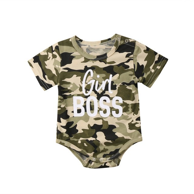 Baby Boys Girls Bodysuit Short Sleeve Tops Bodysuits Casual Cotton Clothing Newborn Kid Baby Boy Girl Clothes 0-18M-eosegal