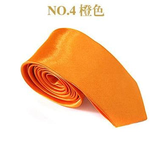Promotion Mens and Women Bussinss Cheap Neck Tie Solid Color Hand Madeeosegal-eosegal