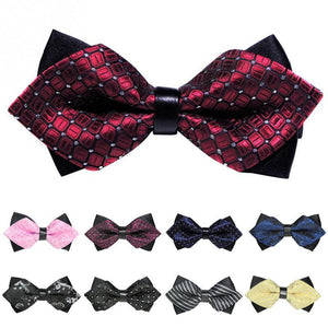1PC Classic bow tie mens butterfly cravat bowtie male marriage Tuxedo businesseosegal-eosegal