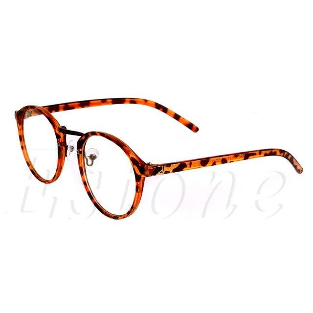 2017 Vintage Men Women Eyeglass Frame Glasses Retro Spectacles Clear Lens Opticaleosegal-eosegal