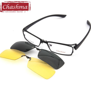 Men Fishing and Driving Clip Polarized Sunglasses Quality Optical Mopia Glasseseosegal-eosegal