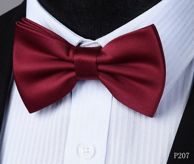 Pre-tied bow tie Wholesale Adjustable Solid Double Fold & Single Foldeosegal-eosegal