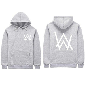 Hot Selling Electronic Music Fade DJ Alan Walker Same Hoodie Men &eosegal-eosegal