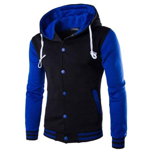Brand 2018 Hot Sale Hoodie Button Cardigan Hoodies Men Fashion Tracksuit Maleeosegal-eosegal