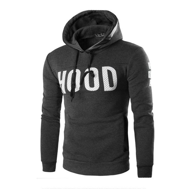 New Style Men Male Winter Tracksuit Sweatshirt Slim Hoodie Warm Pullover Sweatshirteosegal-eosegal
