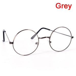 For Women Men Round Spectacle Glasses Frames Glasses With Clear Glass Myopiaeosegal-eosegal