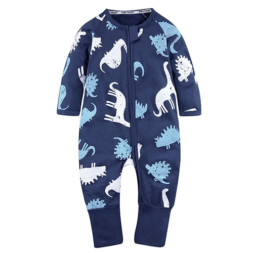 2018 Spring Baby Clothes Newborn Baby Rompers Long Sleeve Overalls Baby Jumpsuit Baby Girls Boys Overalls Roupas Bebe XH-1080-eosegal