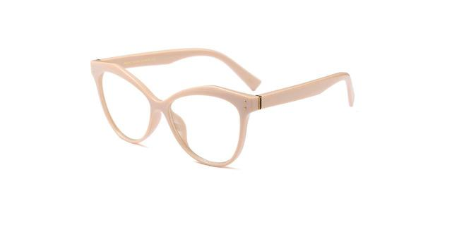 Newest Vintage Cat Eye Rivet Eyewear Frame Women Elegant Optical Frame Eyeglasseseosegal-eosegal