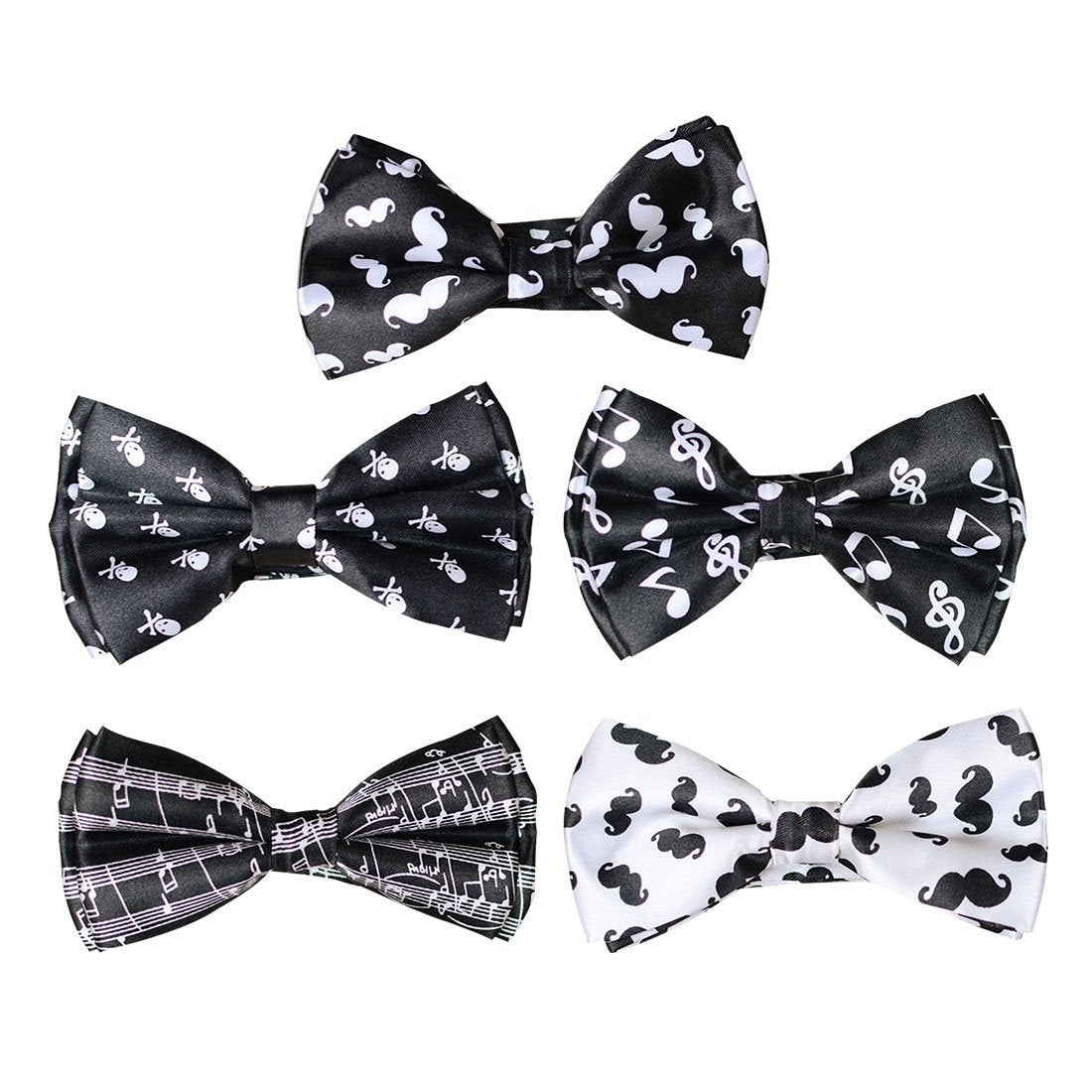 New Women Mens Unisex Tuxedo Classic Bowtie Sound Spectrumd Music Score Mixeosegal-eosegal