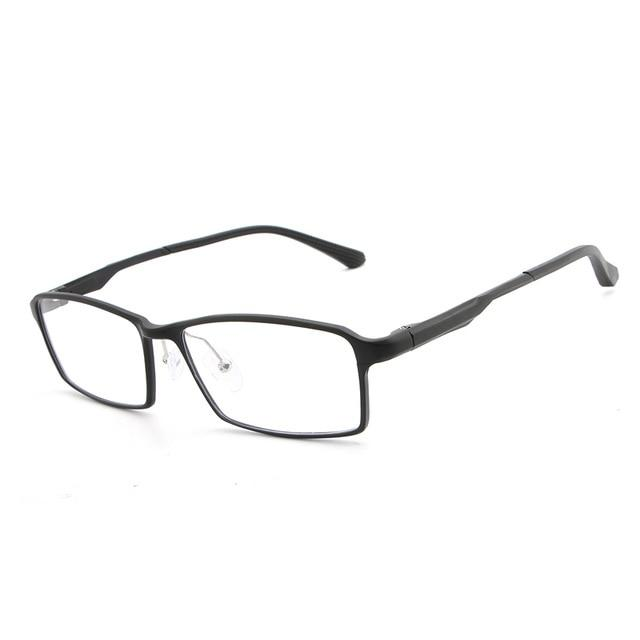 Aluminum Magnesium Spectacle Frame Simple Men Women Optical Glasses Frame With Cleareosegal-eosegal