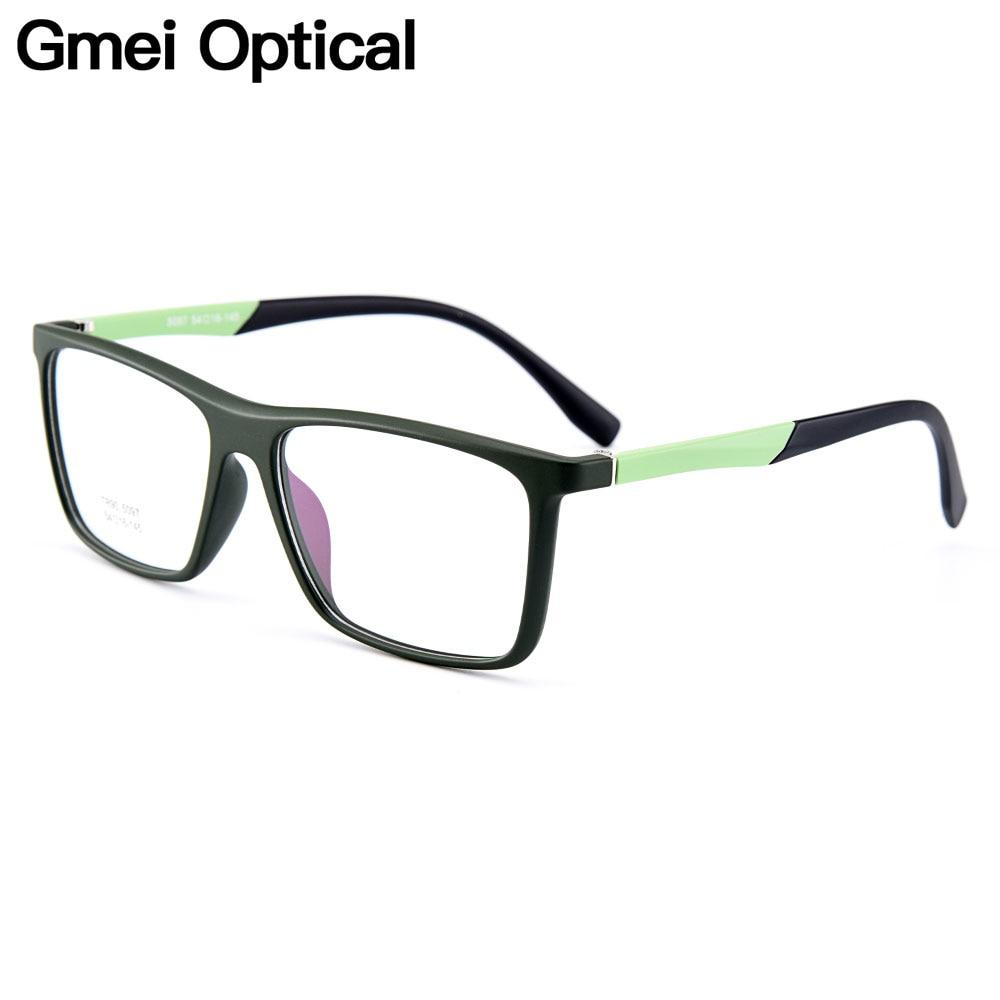 Stylish Urltra-Light TR90 Rectangular Full Rim Optical Glasses Frames For Meneosegal-eosegal