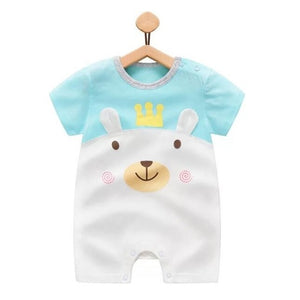 2018 Baby rompers summer style duck baby boy clothes newborn girl short sleeve Baby clothes children's Clothes baby clothing-eosegal