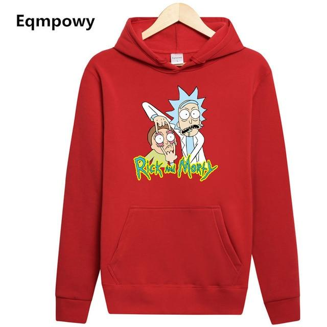 Fashion New Arrival Rick Morty Men Hoodies Anime Peace Among Worlds Folkeosegal-eosegal