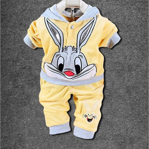 Baby Girl Clothes 2018 Autumn Winter Baby Clothes Sets Infant Outfits Suits Baby Boy Clothes Cotton Newborns Clothing Sets-eosegal