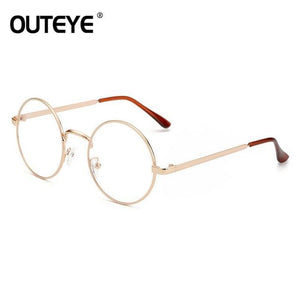 Vintage Round Clear Glasses Eyewear Fashion Women Transparent Optical Eye Glasses Frameseosegal-eosegal