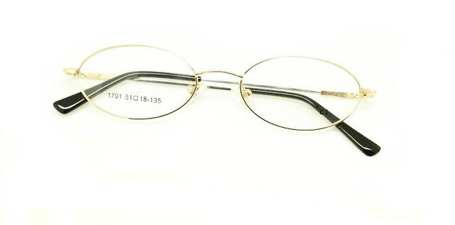 Free Shipping Oval Shape Metal Full Small Face Prescription Optical Spectacle Eyeglasseseosegal-eosegal