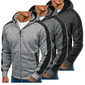 Hirigin Fashion Men's Hoodies Men's Winter Warm Cusual Hooded Sweatshirts Long Sleeveeosegal-eosegal