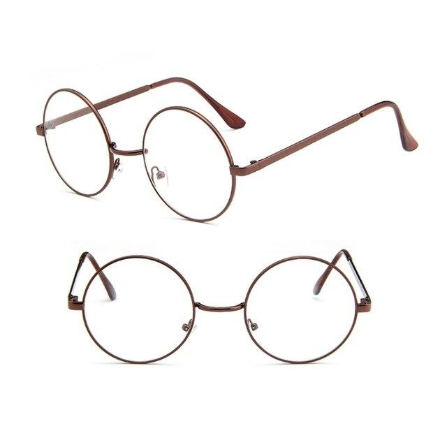 Vintage Men Women Retro Round Eyeglasses Frame Glasses Eyewear Clear Lens Hot!eosegal-eosegal