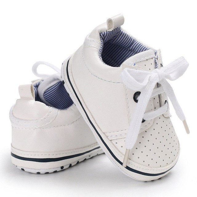 2018 Brand New High Quality Newborn Baby Boy Girl Casual PU Shoes Toddler Infant Soft Sole Crib Shoes-eosegal