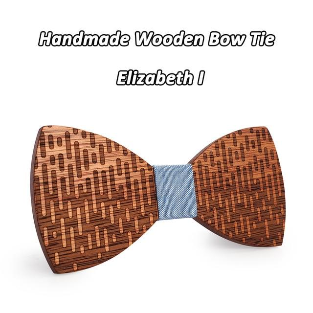 Wood Bow Tie Wedding Decoration High Quality Handmade Wooden Bow Tieseosegal-eosegal