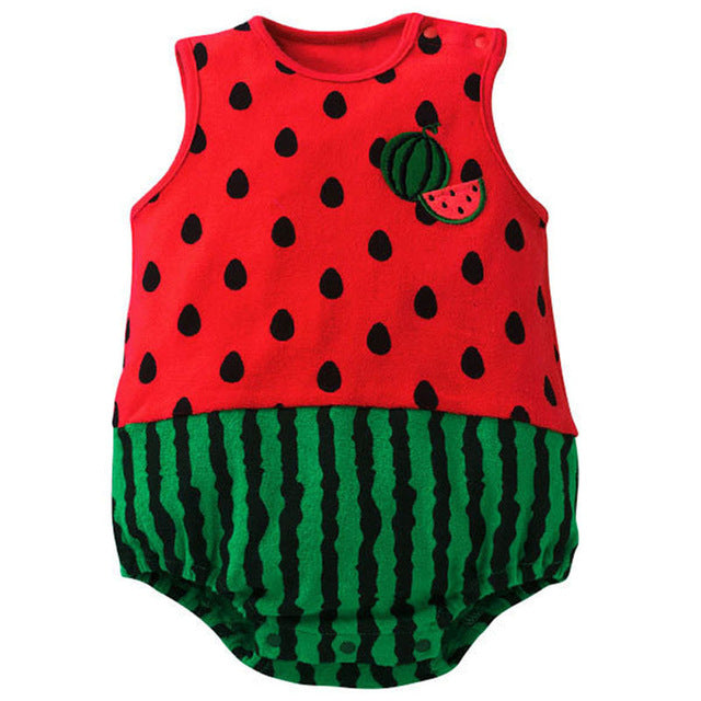 Trendy Infant Baby Suit Girl Boy Cute Cartoon Pattern Romper Jumpsuit Toddler Apparel-eosegal