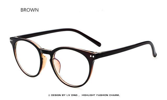 Retro Female Male Eyeglasses Brand Design Eye Glasses Frames For Women Meneosegal-eosegal
