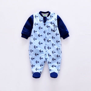 2018 baby Rompers winter Baby Girl infant Jumpsuit newborn Animal Dinosaur long sleeve Rompers Coral fleece/cotton baby Jumpsuit-eosegal