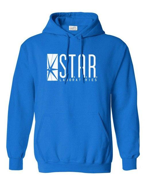 superman series men hoody STAR bodybuilding jumper the flash gotham city comiceosegal-eosegal