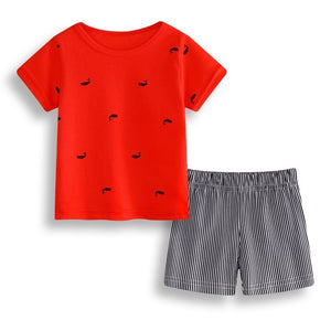 Newborn Baby Top T shirt+Pants+Hat Outfit Boy Tracksuit Clothing 3 6 9 12 18 24M