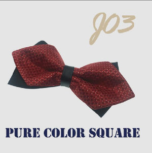 New Men's Fashion Ties British Fashion 100% Polyester Fine Grid Butterflyeosegal-eosegal